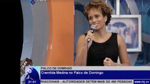 Palco de Jornal de Domingo