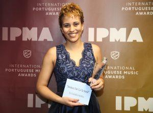 "Cremilda Medina vence prémio ""Best World Music"" nos IPMA 2018"