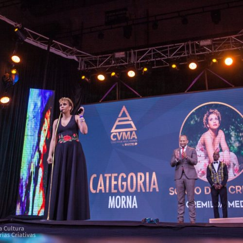 "Cremilda Medina vence ""Melhor Morna"" e prémio Sapo Award nos CVMA"