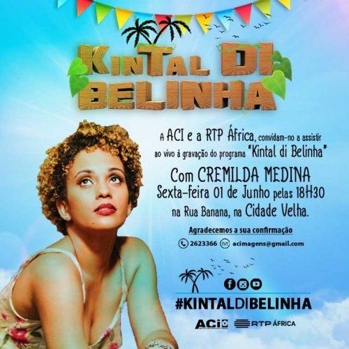 Cremilda Medina no Kintal di Belinha